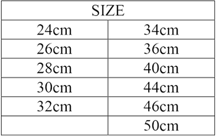 Size nắp xửng hấp