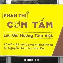 Com tấm Phan Thi khách hàng của LOGY