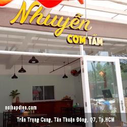 Nhuyễn com tấm khách hàng Logy