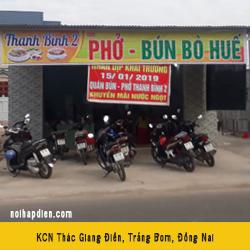 Phở Thanh Bình khách hàng Logy