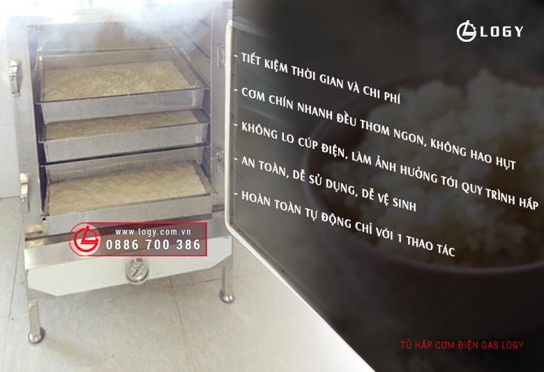 Lợi ích khi dùng tủ hấp cơm