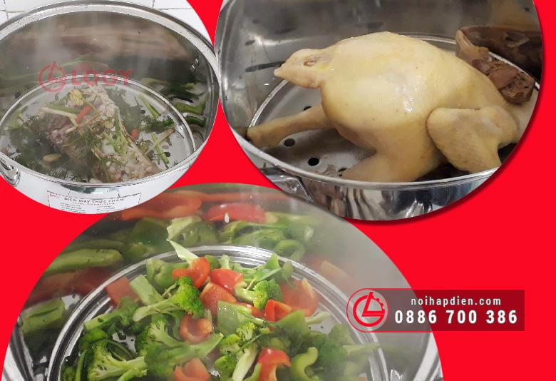 Thức ăn giữ được màu sắc và hương vị